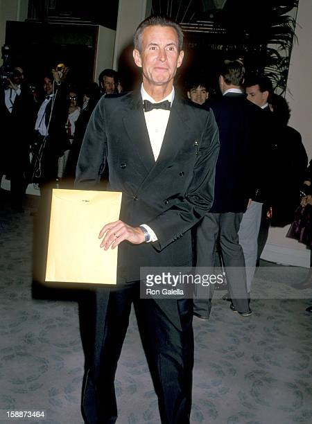Actor Anthony Perkins attends the Sixth Annual American Cinema Awards on January 6 1989 at Beverly Hilton Hotel in Beverly Hills California