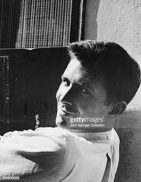 Actor Anthony Perkins Smiling