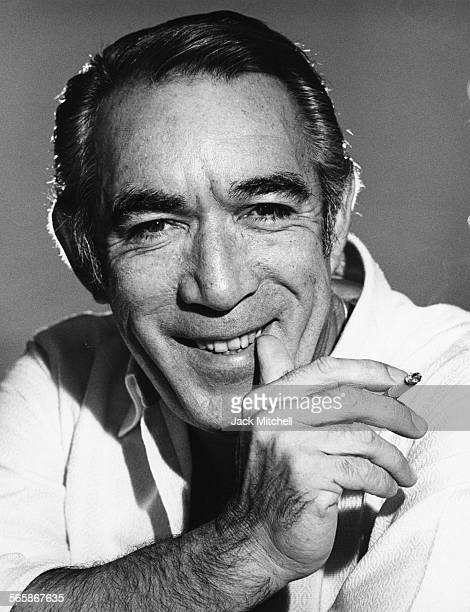Actor Anthony Quinn 1971 Photo by Jack Mitchell/Getty Images