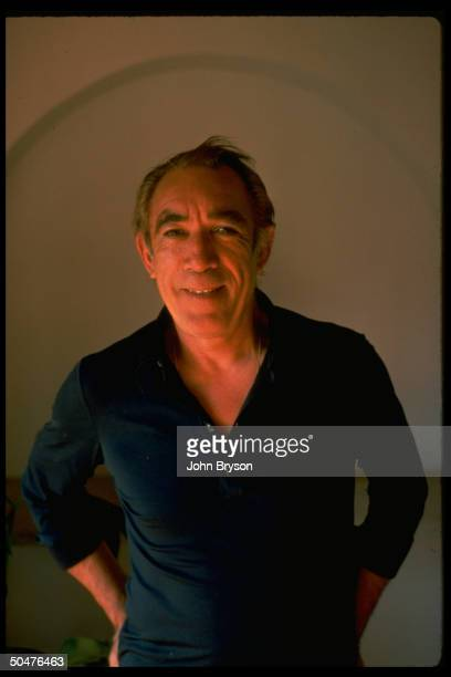 Actor Anthony Quinn during filming of motion picture Mohammed The Messenger Of God