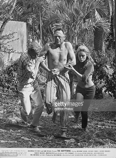 Actor Anthony Quinn in a scene from the movie 'The Happening' 1967
