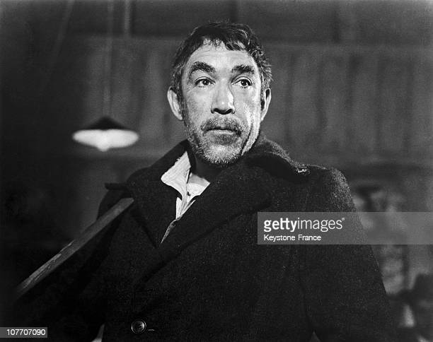 Actor Anthony Quinn In The Film Zorba The Greek by Michael Cacoyannis