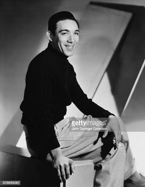 Actor Anthony Quinn Smiling