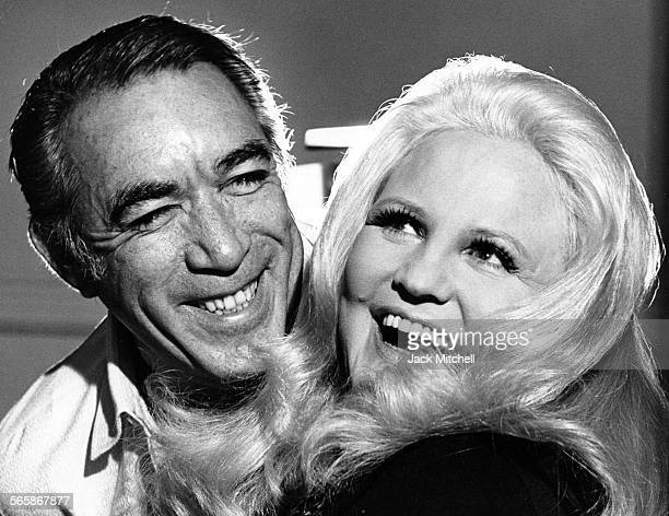 Actor Anthony Quinn with singer Peggy Lee 1971 Photo by Jack Mitchell/Getty Images