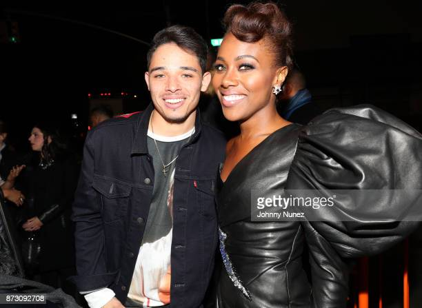 Actor Anthony Ramos and 'She's Gotta Have It' lead actress DeWanda Wise attend Netflix Original Series 'She''s Gotta Have It' Premiere and After...