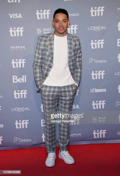 Actor Anthony Ramos attends 2018 Toronto International Film Festival 'A Star Is Born' Press Conference at TIFF Bell Lightbox on September 9 2018 in...