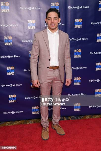 Actor Anthony Ramos attends IFP's 27th Annual Gotham Independent Film Awards on November 27 2017 in New York City