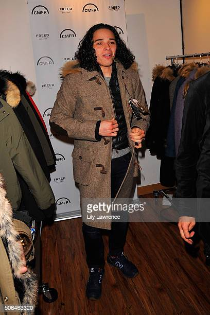 Actor Anthony Ramos attends Kari Feinstein's Style Lounge on January 23 2016 in Park City Utah
