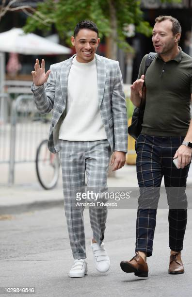 Actor Anthony Ramos attends the 2018 Toronto International Film Festival on September 9 2018 in Toronto Canada
