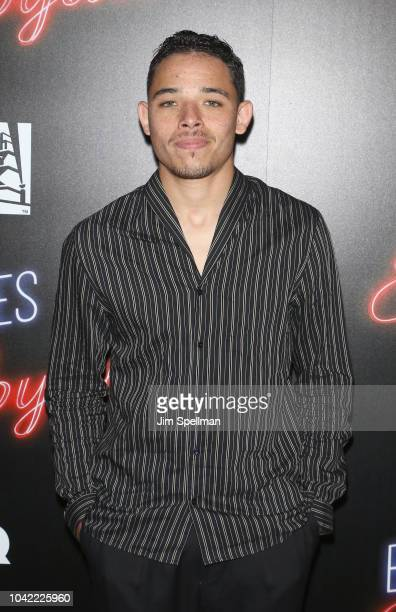 Actor Anthony Ramos attends the 'Bad Times At The El Royale' New York screening at Metrograph on September 27 2018 in New York City