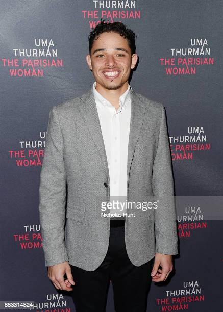 Actor Anthony Ramos attends the broadway opening night of 'The Parisian Woman' at The Hudson Theatre on November 30 2017 in New York City