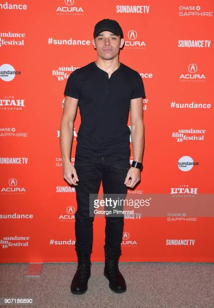 Actor Anthony Ramos attends the 'Monsters And Men' Premiere during the 2018 Sundance Film Festival at Eccles Center Theatre on January 19 2018 in...
