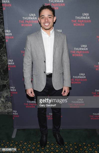 Actor Anthony Ramos attends 'The Parisian Woman' Broadway opening night at Hudson Theatre on November 30 2017 in New York City