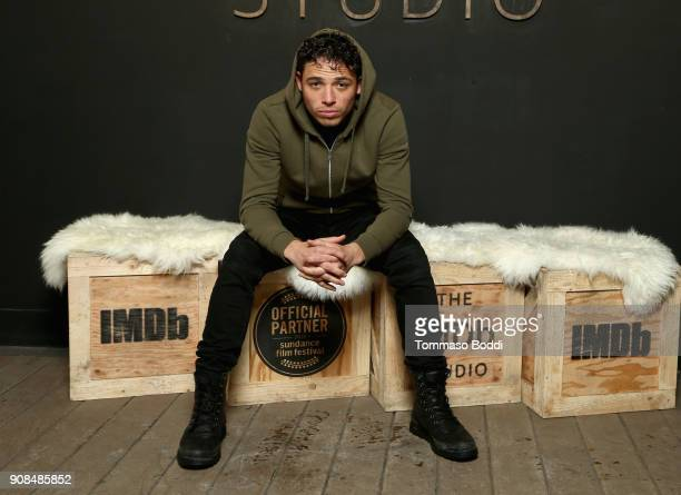 Actor Anthony Ramos of 'Monsters and Men' attends The IMDb Studio and The IMDb Show on Location at The Sundance Film Festival on January 21 2018 in...