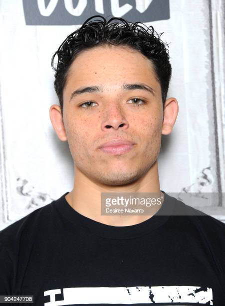 Actor Anthony Ramos visits Build Studio to discuss 'She's Gotta Have It' on January 12 2018 in New York City