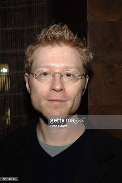 Actor Anthony Rapp arrives to the Tribeca Film Institute Gala Benefit At Nobu Midtown on November 20 2005 in New York City