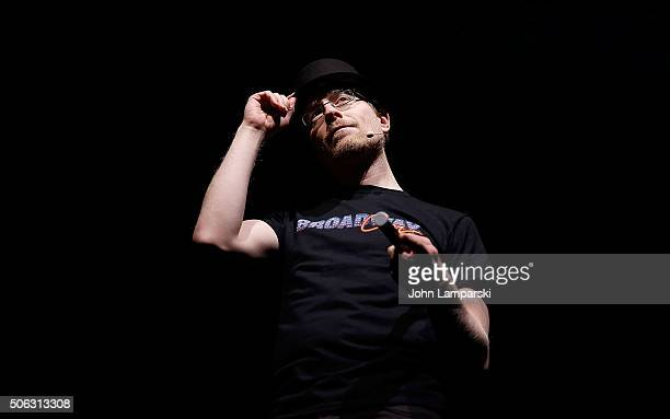 Actor Anthony Rapp attends BroadwayCon 2016 at the Hilton Midtown on January 22 2016 in New York City