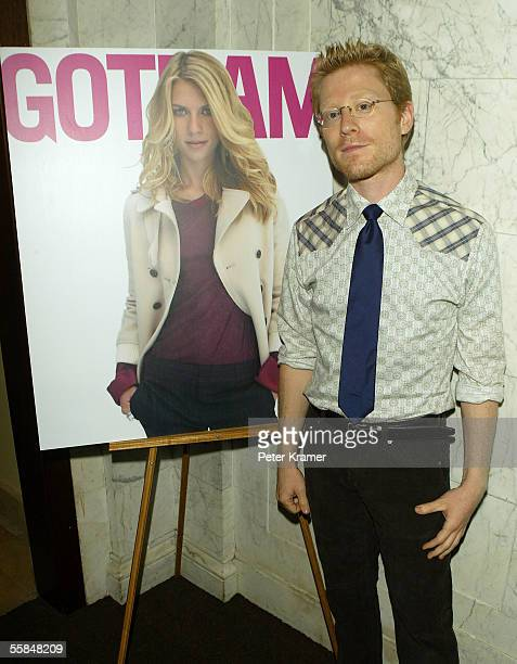Actor Anthony Rapp attends Gotham magazine's party to celebrate the October men's fashion issue on October 3 2005 in New York City