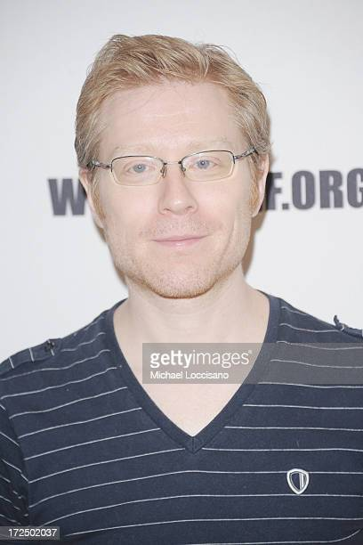 Actor Anthony Rapp attends the 2013 New York Musical Theatre Festival Preview at The Pershing Square Signature Center on July 2 2013 in New York City