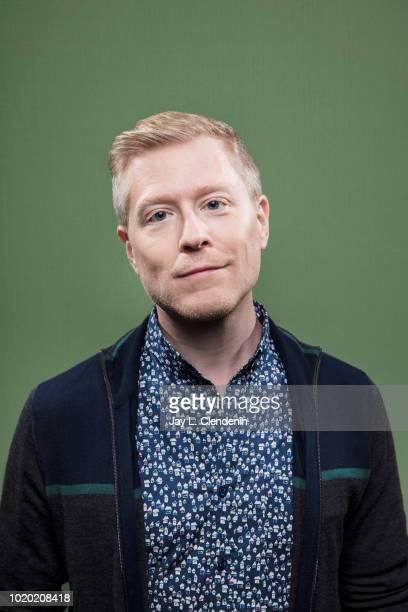 Actor Anthony Rapp from 'Star Trek Discovery' is photographed for Los Angeles Times on July 20 2018 in San Diego California PUBLISHED IMAGE CREDIT...