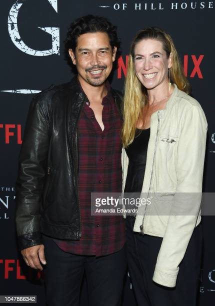 Actor Anthony Ruivivar and Yvonne Jung arrive at Netflix's The Haunting Of Hill House Season 1 Premiere at ArcLight Hollywood on October 8 2018 in...