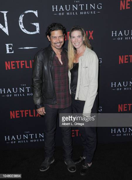 Actor Anthony Ruivivar and Yvonne Jung arrive for Netflix's The Haunting Of Hill House Season 1 Premiere held at ArcLight Hollywood on October 8 2018...