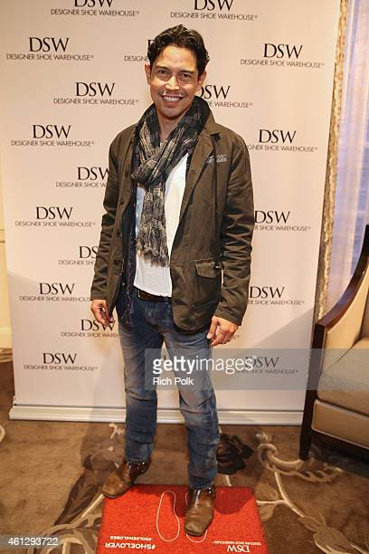 Actor Anthony Ruivivar attends the HBO Luxury Lounge featuring PANDORA Jewelry at Four Seasons Hotel Los Angeles at Beverly Hills on January 10 2015...