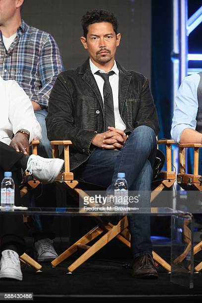 Actor Anthony Ruivivar speaks onstage at the 'Frequency' panel discussion during The CW portion of the 2016 Television Critics Association Summer...