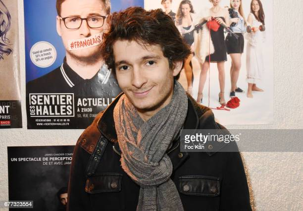 Actor Anthony Sonigo attends 'Attachiante' Chanez Concert and Birthday Party at Sentier des Halles Club on May 2 2017 in Paris France