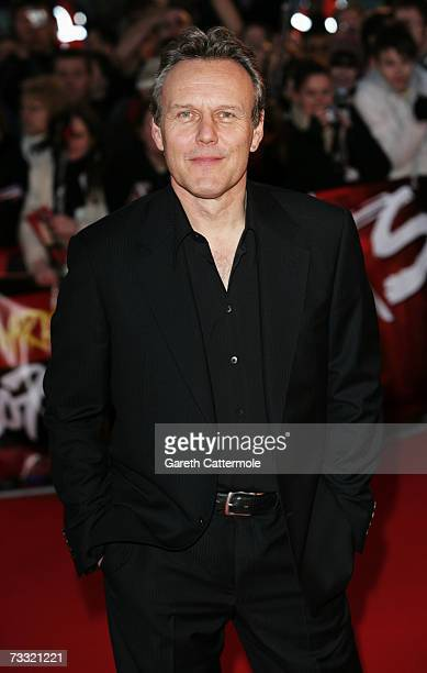 Actor Anthony Stewart Head arrives at the BRIT Awards 2007 in association with MasterCard at Earls Court on February 14 2007 in London
