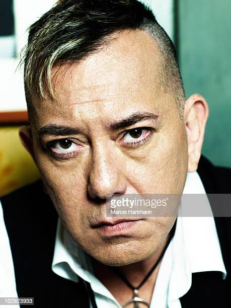 Actor Anthony Wong Chau Sang poses at a portrait session in Cannes during the 62nd Annual Cannes Film Festival on May 13 2009