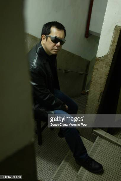 Actor Anthony Wong Chausang at an interview 11 March 2003