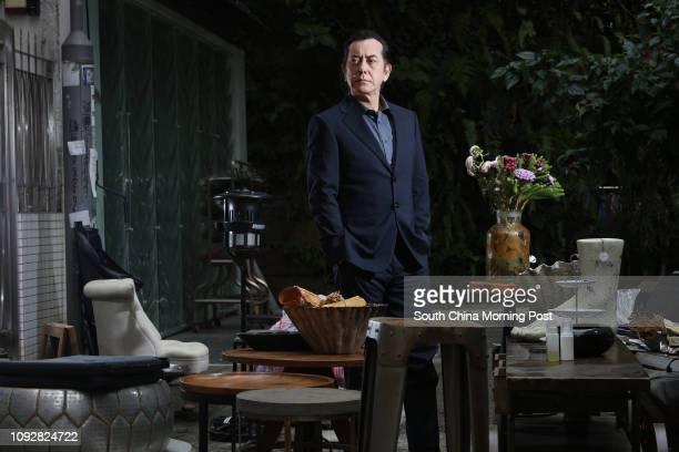 Actor Anthony Wong Chausang poses for a picture in Wan Chai 26FEB17 SCMP/Felix Wong