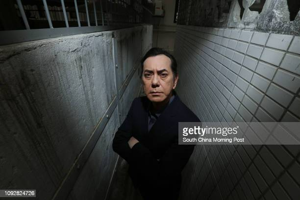 Actor Anthony Wong Chausang poses for a picture in Wan Chai 26FEB17 SCMP / Felix Wong