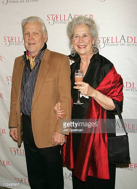 Actor Anthony Zerbe with wife arrives at the 4th Annual Stella by Starlight Gala Benefit Honoring Martin Sheen at Chipriani 23rd st on March 17, 2008...