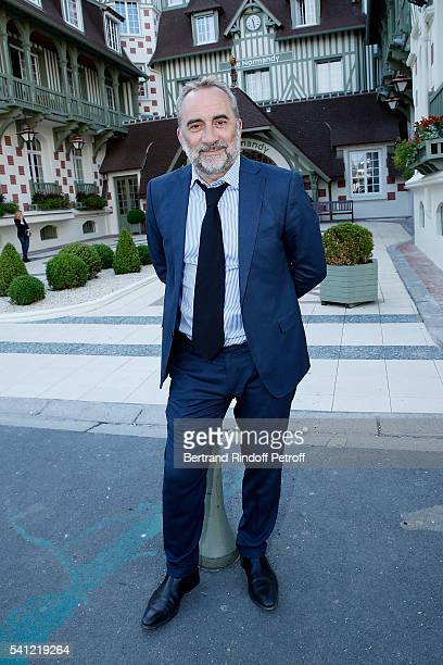 Actor Antoine Dulery attends the Hotel Normandy ReOpening at Hotel Normandy on June 18 2016 in Deauville France