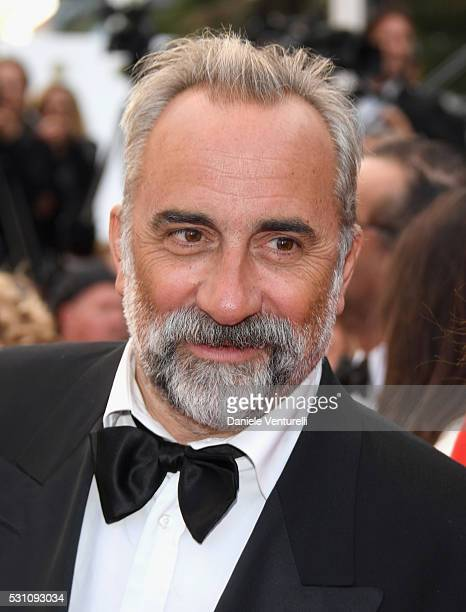 Actor Antoine Dulery attends the 'Money Monster' premiere during the 69th annual Cannes Film Festival at the Palais des Festivals on May 12 2016 in...