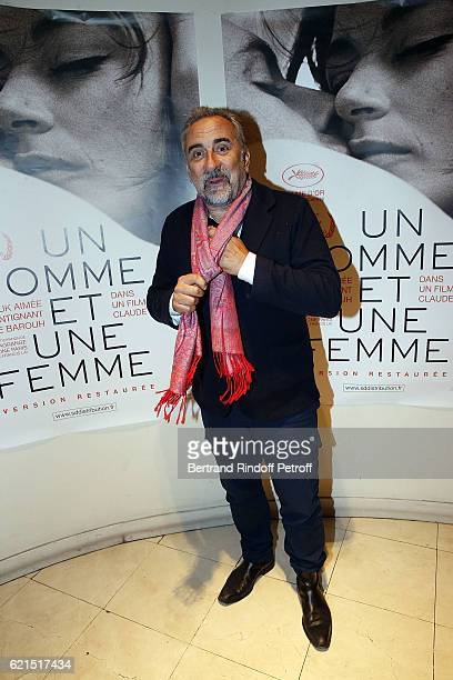Actor Antoine Dulery attends 'Un Homme et Une Femme' screening for its 5Oth Anniversary at l'Arlequin on November 6 2016 in Paris France