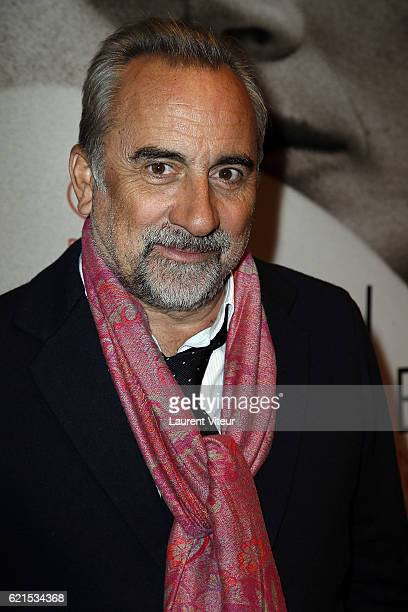 Actor Antoine Dulery attends 'Un Homme et Une Femme' Screening for its 50th Anniversary at l'Arlequin on November 6 2016 in Paris France