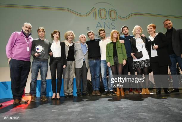 Actor Antoine Dulery, director Fabrice Bracq, actresses Delphine Theodore, Marie Christine Ada, Short movies Jury president, director/actor Jalil...