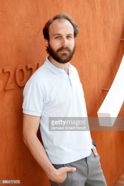 Actor Antoine Gouy attends the 2017 French Tennis Open Day Four at Roland Garros on May 31 2017 in Paris France
