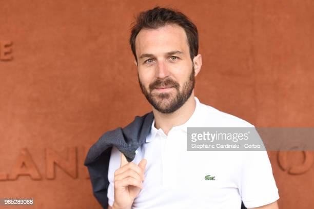 Actor Antoine Gouy attends the 2018 French Open Day Six at Roland Garros on June 1 2018 in Paris France