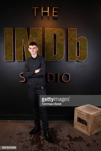 Actor Anton Selyaninov of Beach Rats attends The IMDb Studio featuring the Filmmaker Discovery Lounge presented by Amazon Video Direct Day Four...