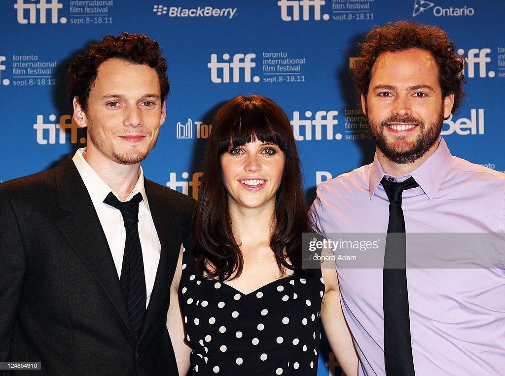 """Like Crazy"" Press Conference - 2011 Toronto International Film Festival"
