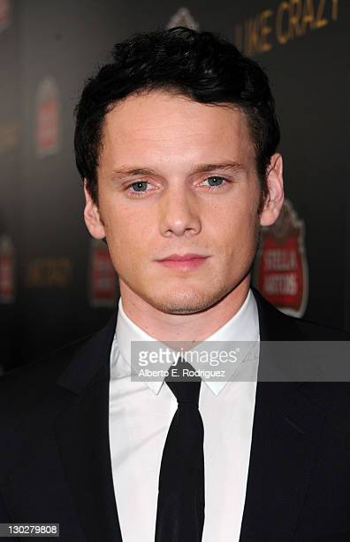 """Actor Anton Yelchin arrives at the premiere of Paramount Pictures' """"Like Crazy"""" held at the Egyptian Theatre on October 25, 2011 in Los Angeles,..."""
