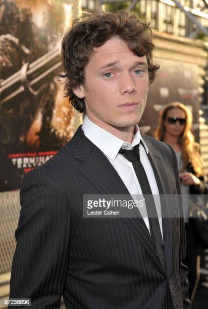 """Actor Anton Yelchin arrives at the Premiere of Warner Bros. """"Terminator Salvation"""" held at Grauman's Chinese Theatre on May 14, 2009 in Hollywood,..."""