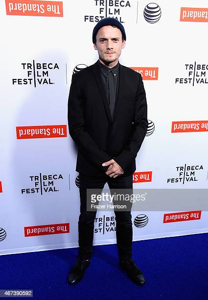 Actor Anton Yelchin arrives at the Tribeca Film Festival Celebrates The 2015 Tribeca Film Festival Program And Tribeca Film's 2015 Upcoming Releases...