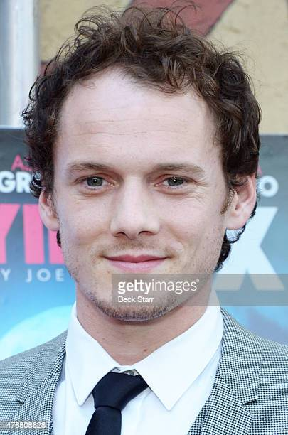 Actor Anton Yelchin attends special advance screening of Joe Dante's film Burying The Ex at American Cinematheque's Egyptian Theatre on June 11 2015...