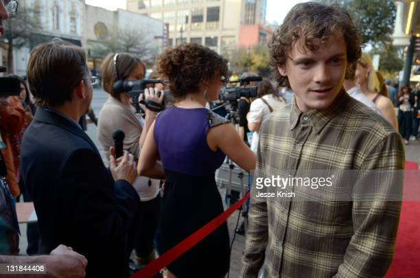 Actor Anton Yelchin attends the 2011 SXSW Music Film Interactive Festival The Beaver Premiere at Paramount Theater on March 16 2011 in Austin Texas