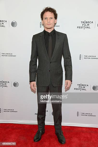 """Actor Anton Yelchin attends the """"5 To 7"""" Premiere during the 2014 Tribeca Film Festival at the SVA Theater on April 19, 2014 in New York City."""
